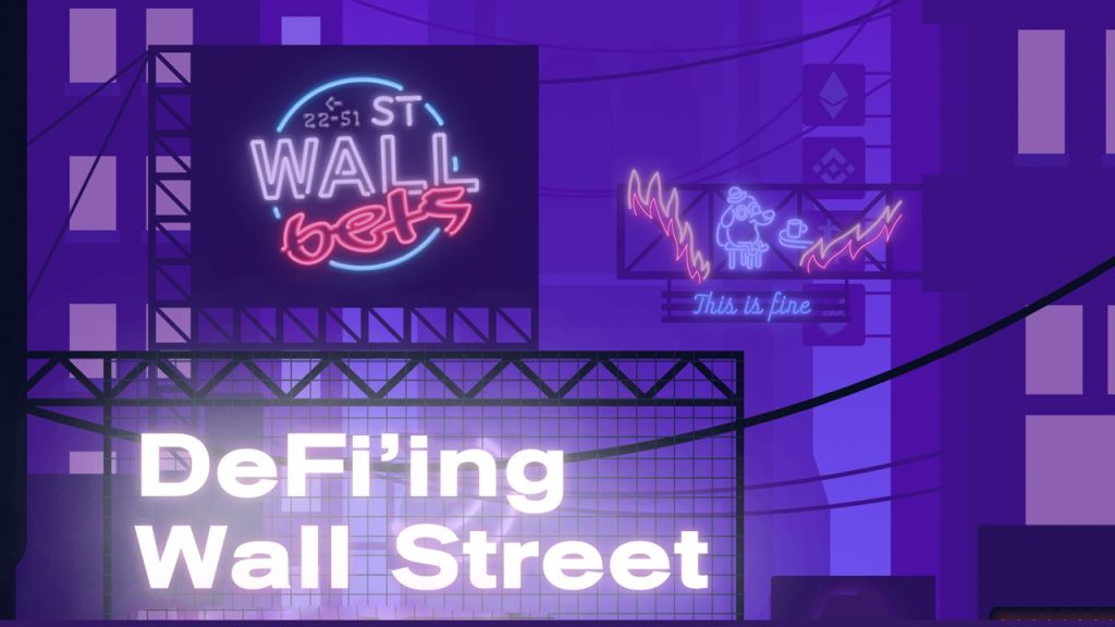Freshly Introduced Wallstreetbets Defi Application Purposes to 'Take Control Of Typical Monetary Markets'-- Defi Bitcoin Information 1