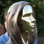 Sculpture of Bitcoin Developer Satoshi Nakamoto Introduced in Hungary-- Included Bitcoin Information 5
