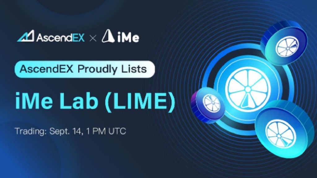 iME Lists on AscendEX-- News release Bitcoin Information 1