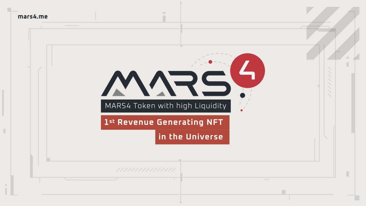 Very Fluid MARS4 Bucks and also Profits Getting Mars Surface NFTs-- Funded Bitcoin Information 1