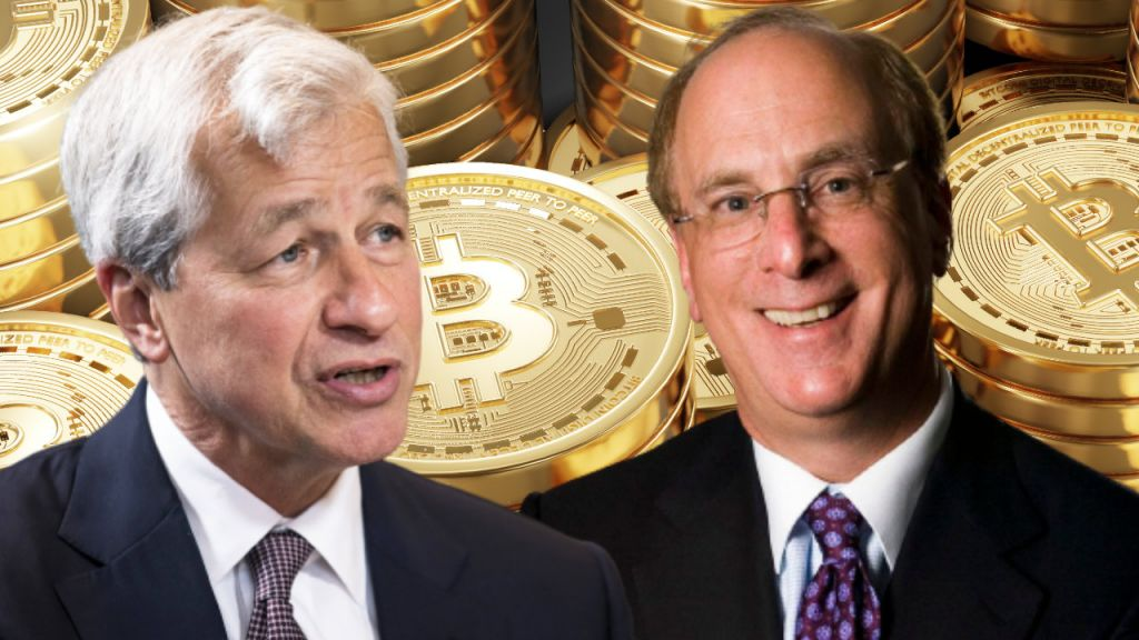 Blackrock Chief Executive Officer Concurs With JPMorgan Employer Jamie Dimon Regarding Bitcoin, Sees 'Significant Function for Digitized Currency'-- Included Bitcoin Information 12